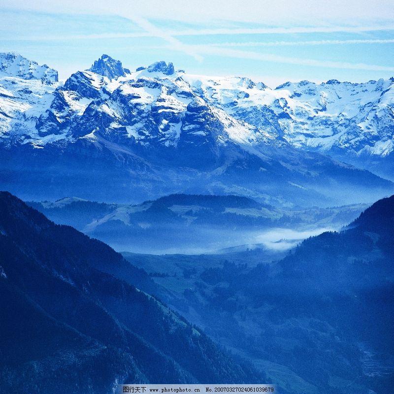 自然风景 冬天雪景