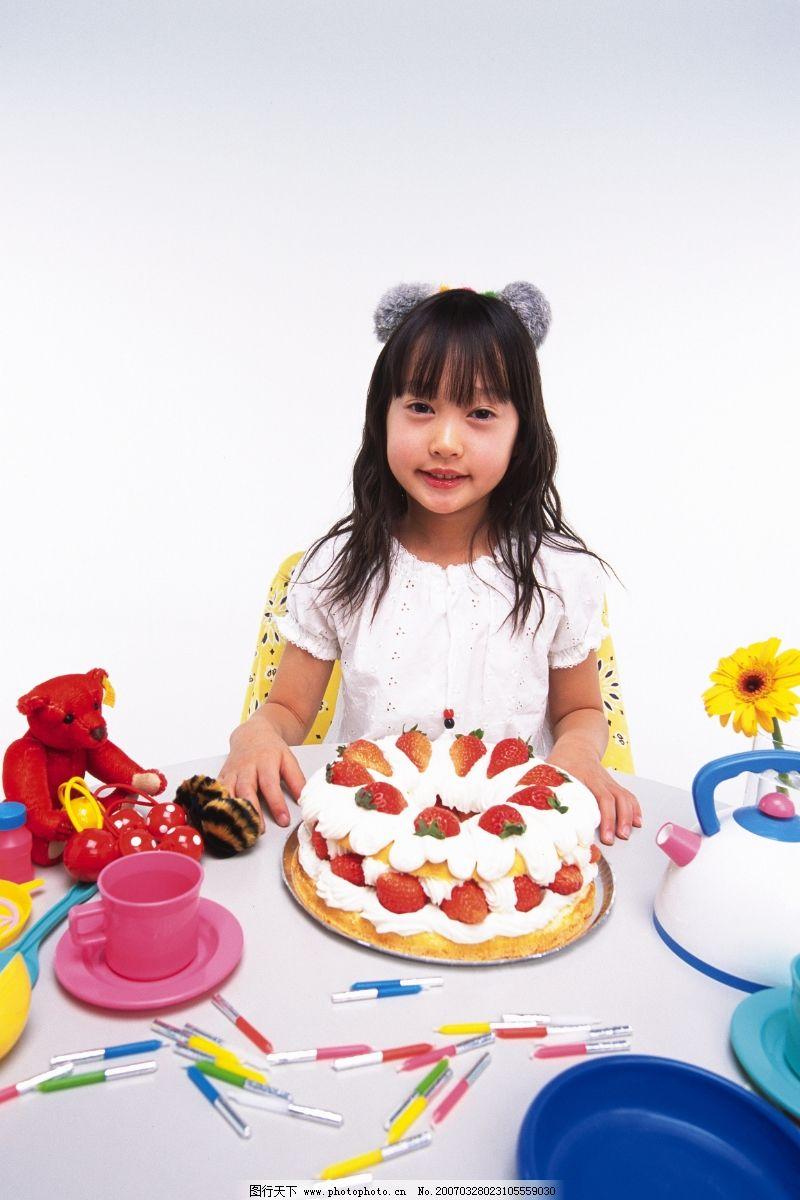 温馨可爱小孩图片