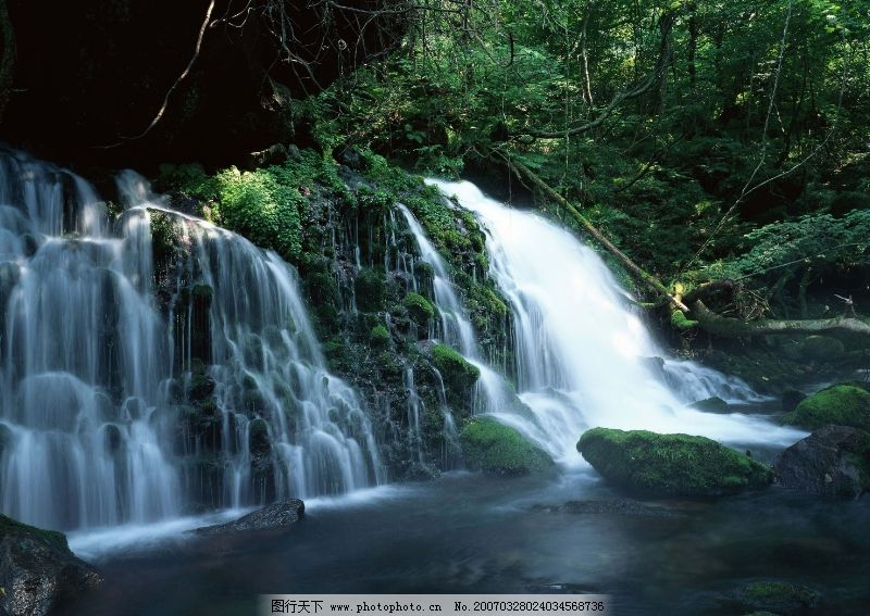 溪流水源0311 自然风景