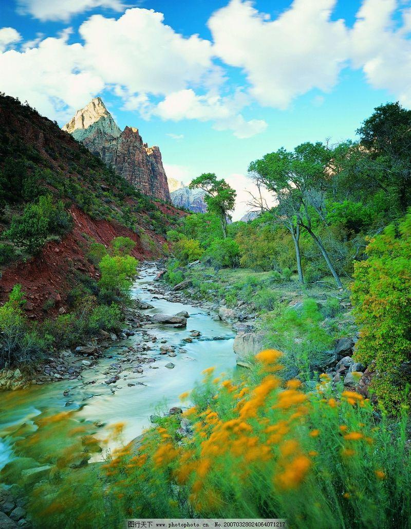 溪流水源0502 自然风景